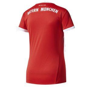adidas FC Bayern München Home Heimtrikot 2017 / 2018 Damen rot / weiß – Bild 2