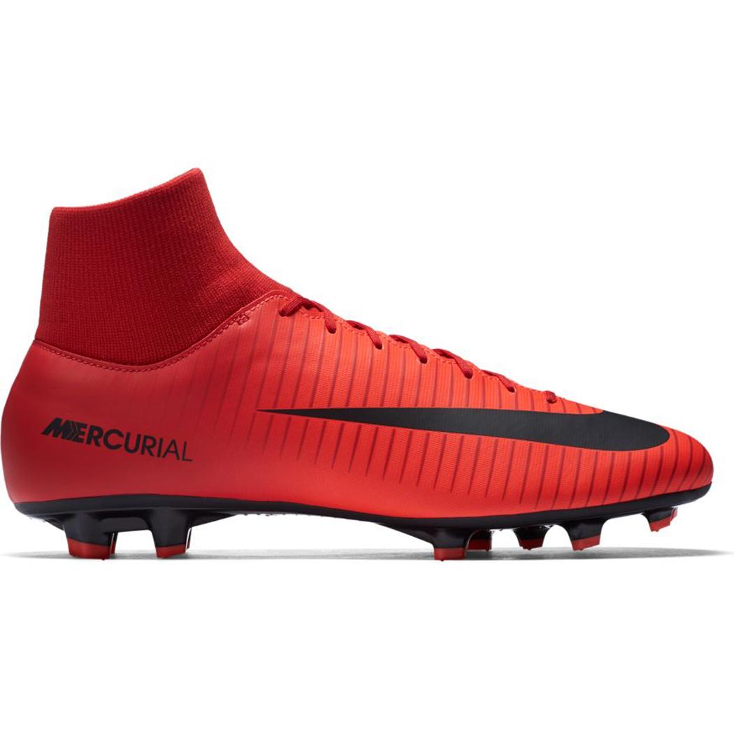 Nike Mercurial Victory VI Dynamic Fit FG rot / schwarz