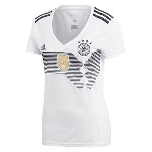 adidas Damen DFB Deutschland Heimtrikot WM 2018 Russland weiß – Bild 1