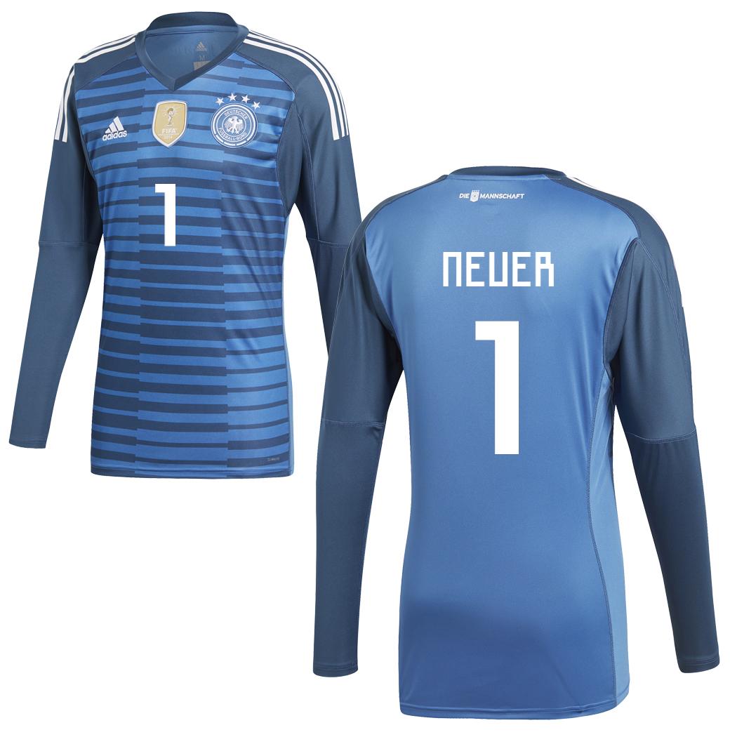 adidas DFB Goalkeeper Jersey Torwarttrikot Deutschland WM ...