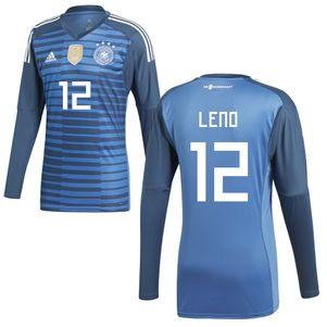 adidas DFB Goalkeeper Jersey Torwarttrikot Deutschland WM 2018 blau – Bild 5