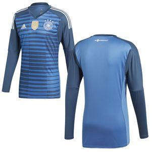 adidas DFB Goalkeeper Jersey Torwarttrikot Deutschland WM 2018 blau – Bild 2
