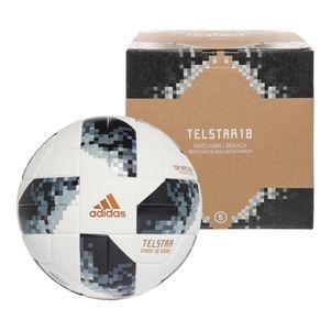 adidas Telstar 18 Top Replique XMAS WM 2018 Fußball weiß / schwarz – Bild 1