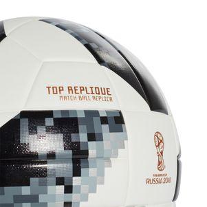 adidas Telstar 18 Top Replique XMAS WM 2018 Fußball weiß / schwarz – Bild 3