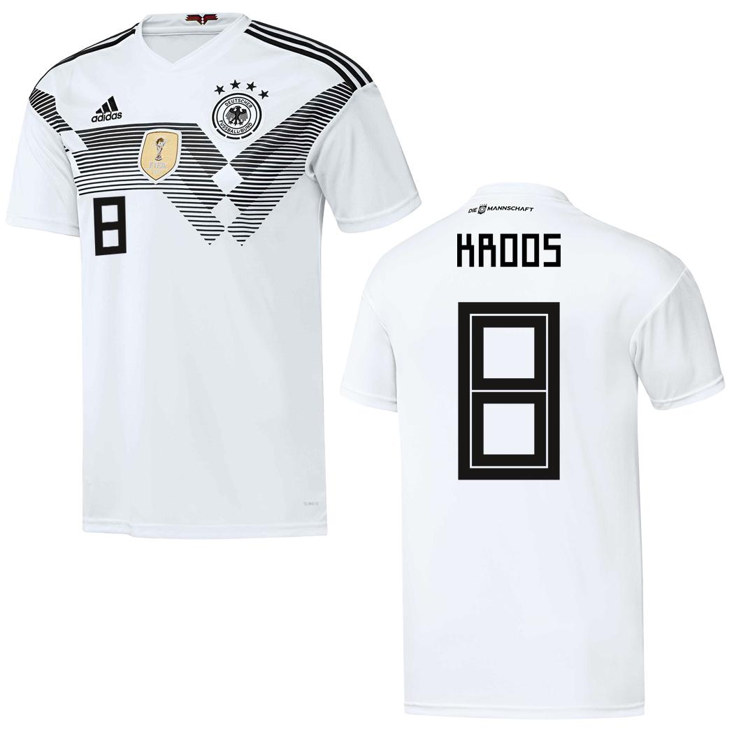 uk store reasonable price low priced adidas DFB Home Deutschland Heimtrikot weiß WM 2018 auch mit ...