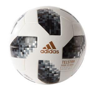 adidas Telstar 18 OMB Matchball WM 2018 Fußball Gr. 5 weiß / schwarz – Bild 1