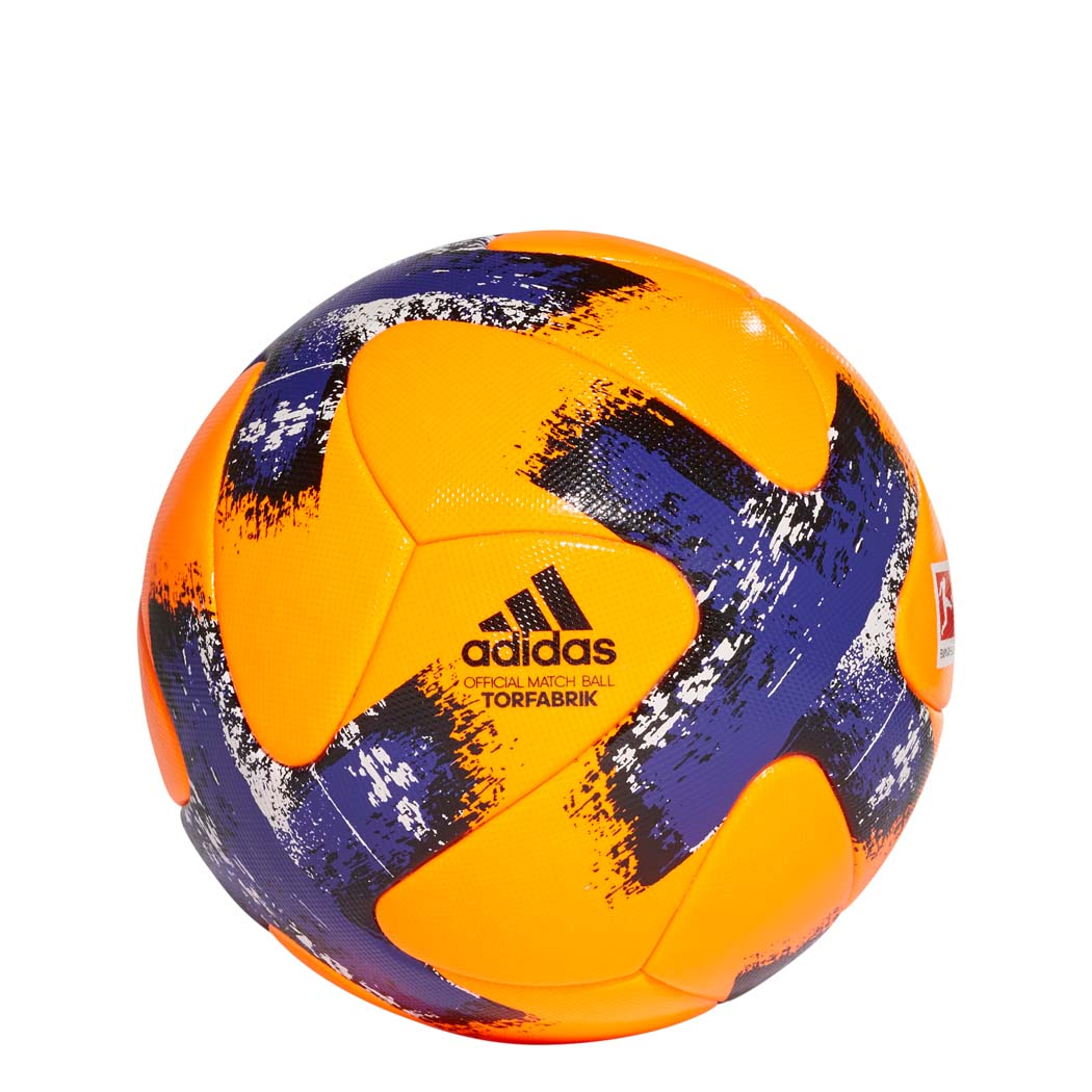 adidas Torfabrik Winter OMB Spielball Bundesliga Matchball 20172018 orange
