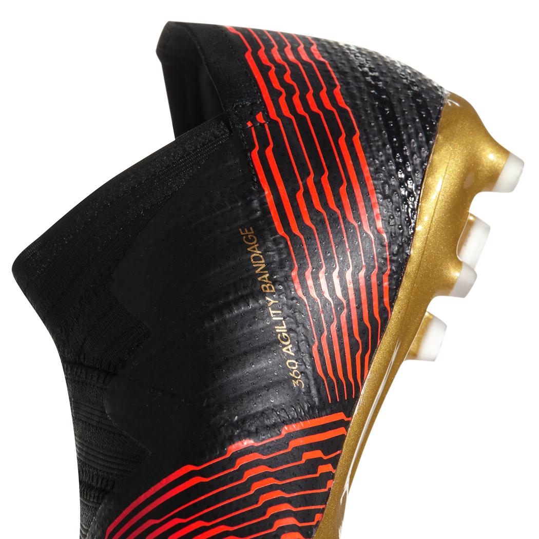 adidas Kinder Nemeziz 17+ 360 Agility FG schwarz rot