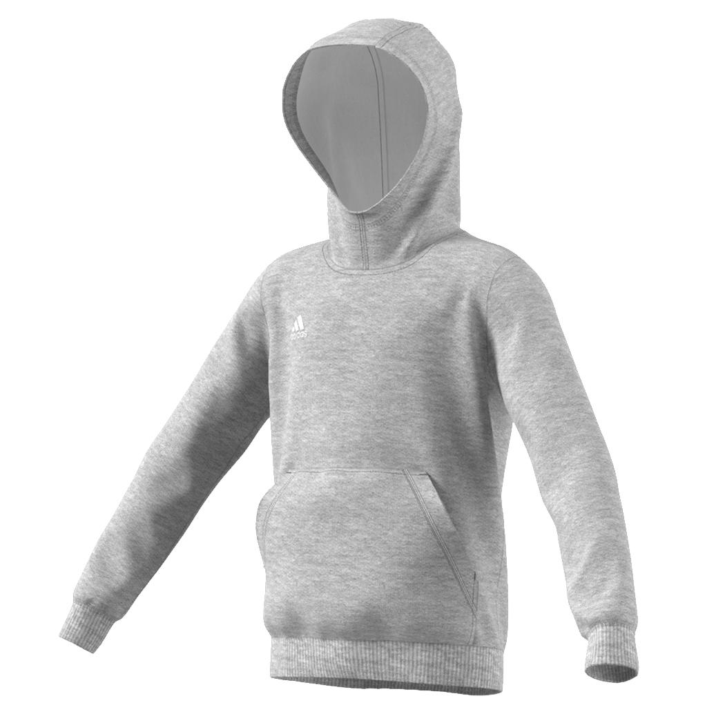 Original kaufen farblich passend abwechslungsreiche neueste Designs adidas Kinder Core 15 Hoody Sweatshirt grau