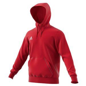 adidas Core 15 Hoody Sweatshirt schwarz / rot / blau / grau – Bild 3