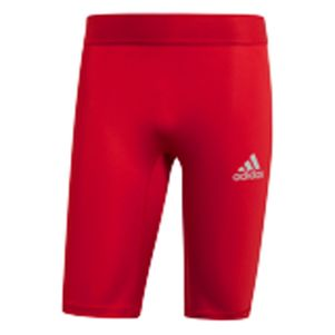 adidas Alphaskin Tight Short Unterziehhose rot – Bild 1