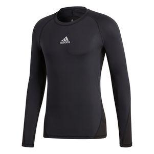 adidas Alphaskin Sport Longssleeve Tee Unterziehshirt schwarz