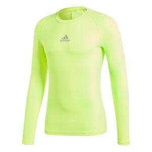 adidas Alphaskin Sport Longssleeve Tee Unterziehshirt gelb