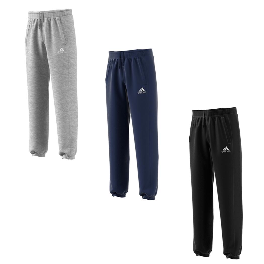 adidas Core 15 Jogginghose grau schwarz blau