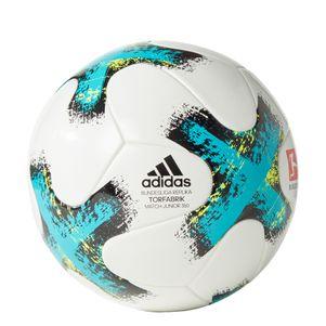 adidas Kinder Torfabrik 350 Gramm DFL Ball weiß – Bild 1