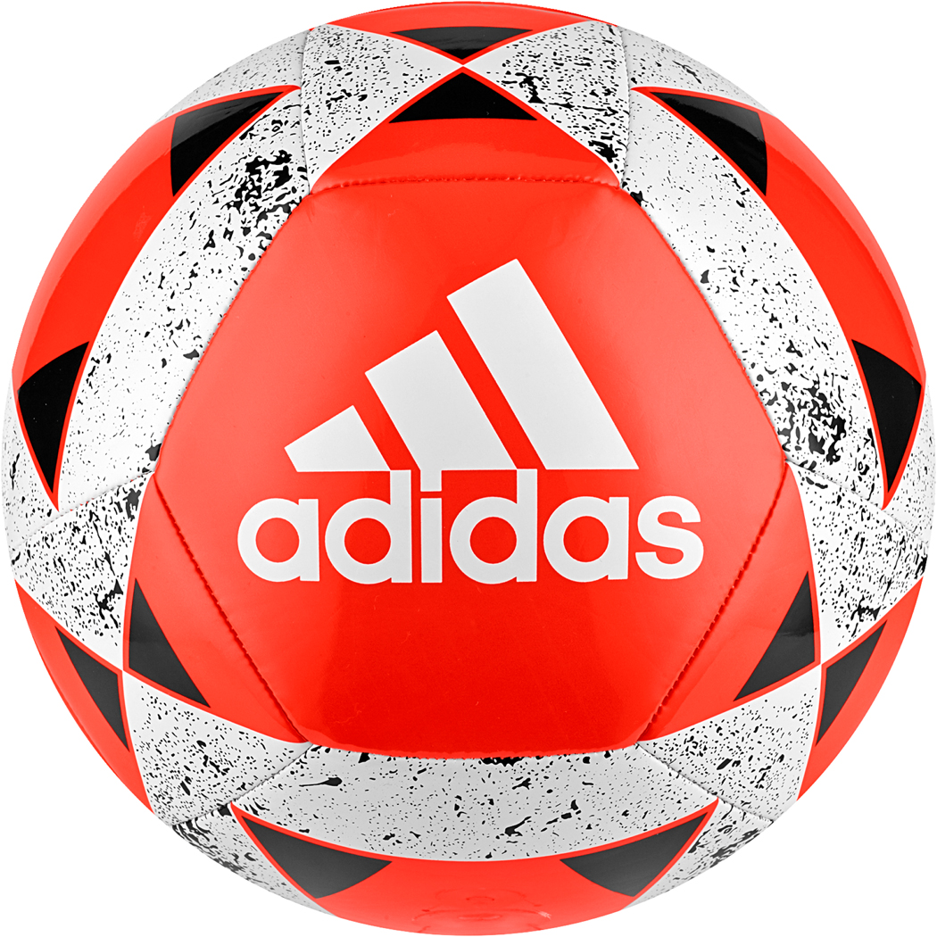Adidas Starlancer V Fussball Rot Weiss Equipment Balle Adidas