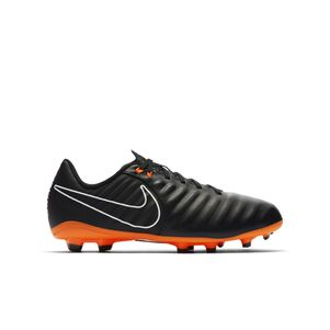 Nike Kinder Tiempo Legend 7 Academy FG schwarz / orange – Bild 1