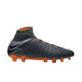 Nike Hypervenom Phantom 3 Elite Dynamic Fit FG grau / orange