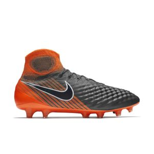 Nike Magista Obra 2 Elite Dynamic Fit FG grau / orange – Bild 1