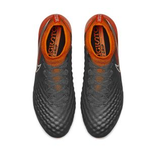 Nike Magista Obra 2 Elite Dynamic Fit FG grau / orange – Bild 4