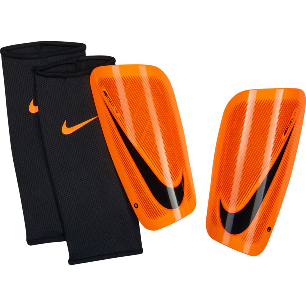 outlet online online here watch Nike Mercurial Lite Schienbeinschoner orange / schwarz