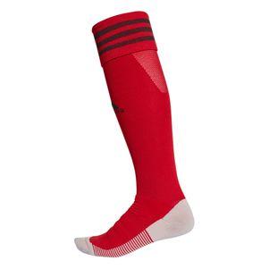 adidas Adisock 18 3 Streifen Stutzenstrumpf rot – Bild 1