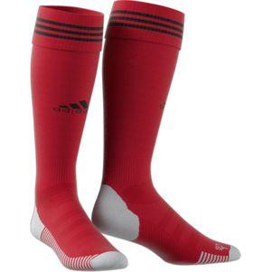 adidas Adisock 18 3 Streifen Stutzenstrumpf rot – Bild 2