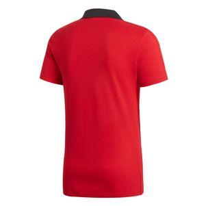 adidas Condivo 18 Poloshirt Herren Baumwollmischgewebe rot – Bild 2