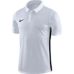 Nike Academy 18 Poloshirt weiß – Bild 1