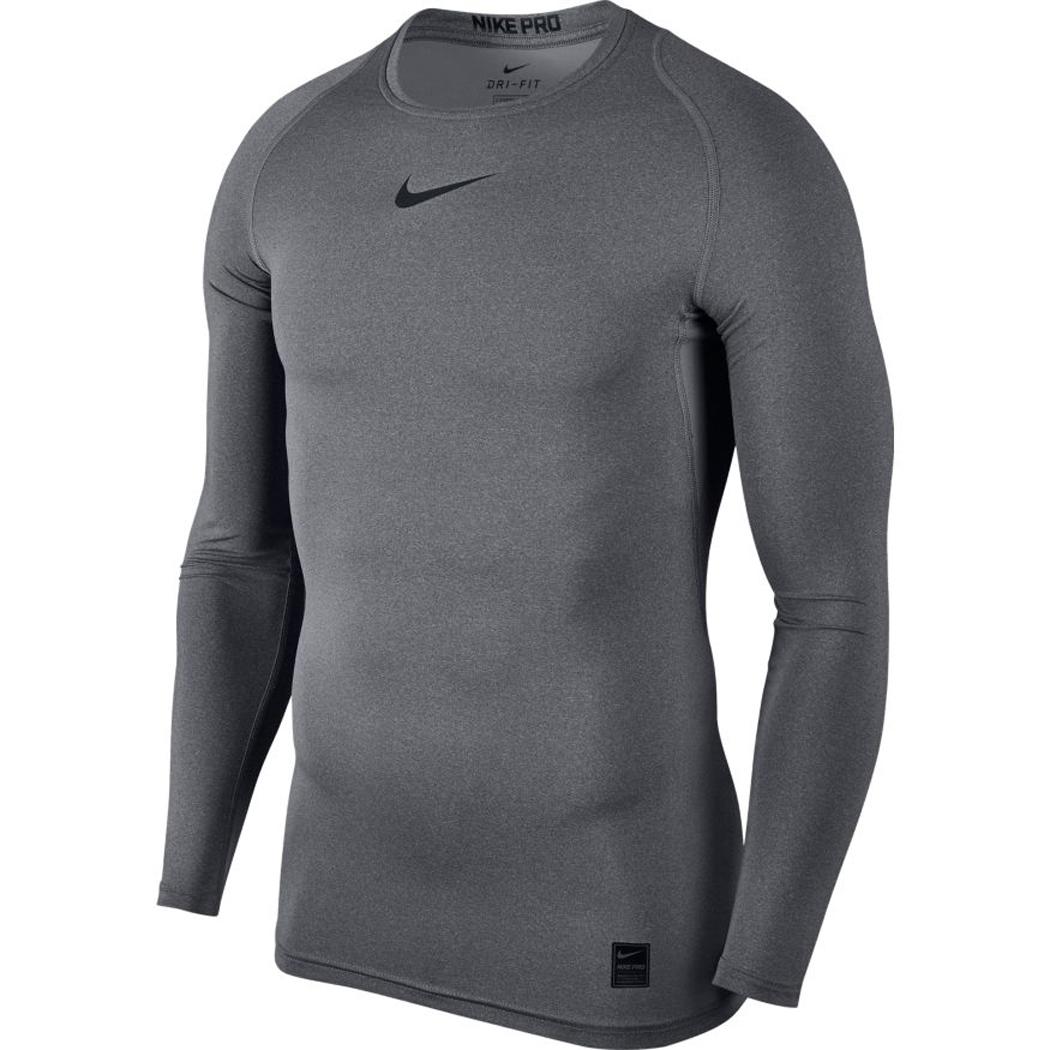 Nike Pro Funktionsshirt Herren Langarm grau Teamwear Underwear