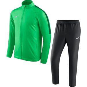 Nike Academy 18 Woven Präsentationsanzug Herren Trainingsanzug grün – Bild 1