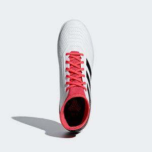 adidas Predator Tango 18.3 TF Fußballschuhe Multinockensohle weiß / rot – Bild 6