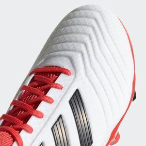 adidas Predator 18.3 FG Fußballschuhe weiß / rot – Bild 4