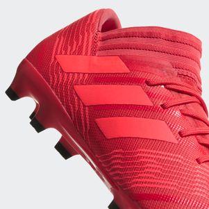 adidas Nemeziz 17.3 FG Fußballschuhe rot  – Bild 3
