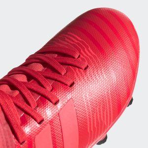 adidas Kinder Nemeziz 17.3 FG Fußballschuhe rot  – Bild 4