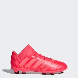adidas Kinder Nemeziz 17.3 FG Fußballschuhe rot  – Bild 1