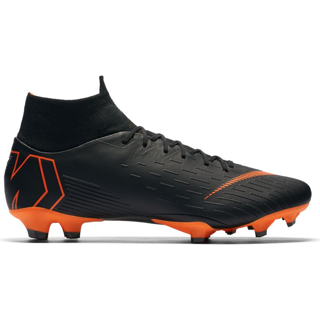 Black Mercurial Soccer Shoes