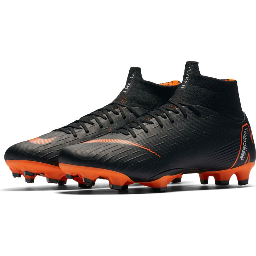 Nike Mercurial Superfly 6 Pro FG schwarz/orange