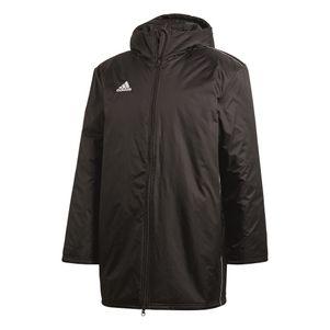 adidas Core18 Stadionjacke Kinder Winterjacke schwarz – Bild 1