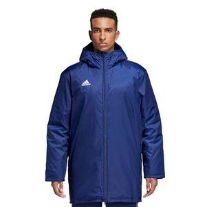 adidas Core18 Stadionjacke Herren Winterjacke dunkelblau – Bild 2