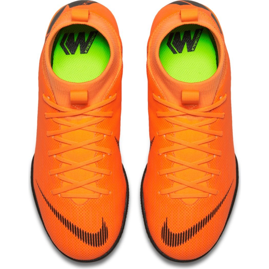 offer discounts buy cheap detailed pictures Nike Kinder MercurialX Superfly 6 Academy Hallenschuhe orange