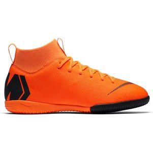 Nike Kinder MercurialX Superfly 6 Academy Hallenschuhe orange – Bild 1
