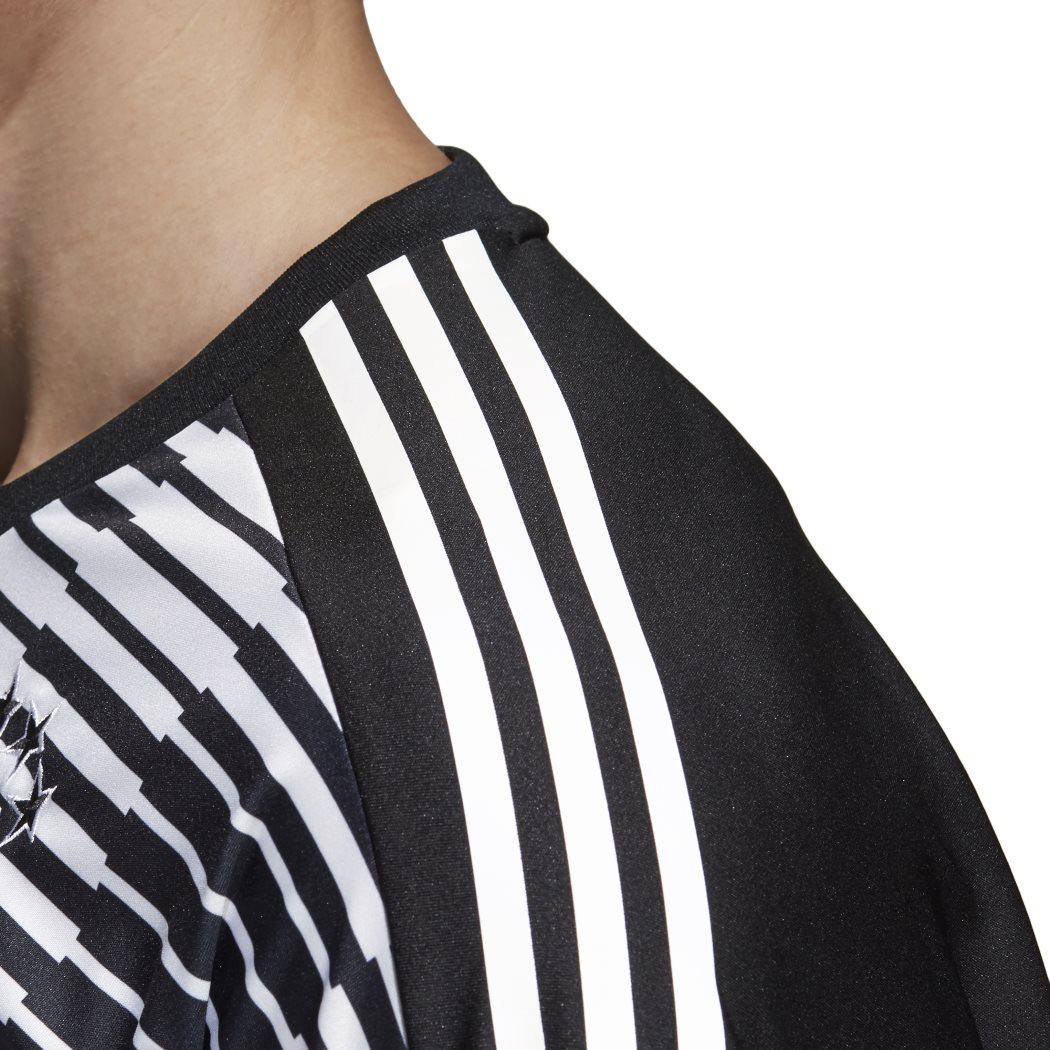 adidas DFB PRE MATCH SHIRT Aufwärmtrikot WM 2018 schwarz weiß