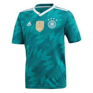 adidas DFB Away Deutschland Auswärtstrikot Kinder grün WM 2018 – Bild 1