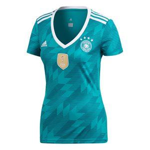 adidas DFB Away Deutschland Auswärtstrikot Damen grün WM 2018 – Bild 1