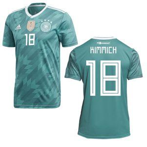 adidas DFB Away Deutschland Auswärtstrikot grün WM 2018 auch mit Flock – Bild 20
