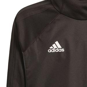 adidas Tiro 17 Warm Top Herren Hoody Kapuzenpullover schwarz – Bild 3