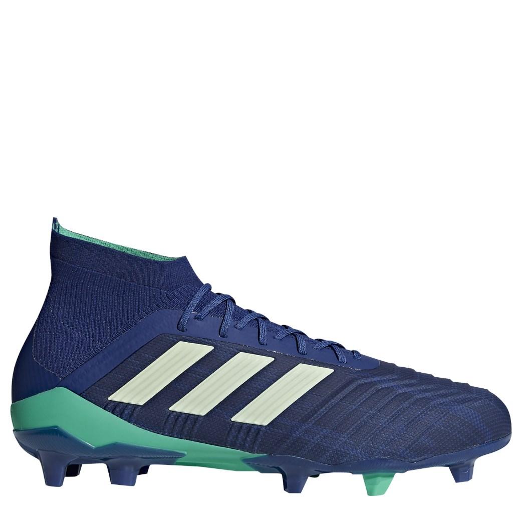 adidas Predator 18.1 FG Fußballschuhe blau / hellgrün