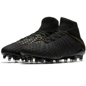 Nike Hypervenom Phantom 3 Elite Dynamic Fit FG Fußballschuhe schwarz / gold – Bild 3