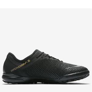 Nike Zoom PhantomX 3 Pro TF Multinocken Fußballschuhe schwarz / gold – Bild 1